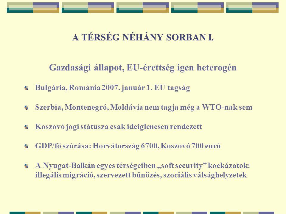 A TÉRSÉG NÉHÁNY SORBAN I.