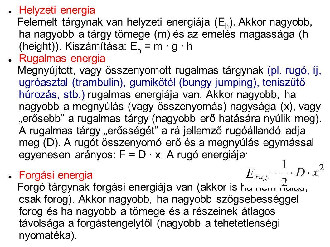 Helyzeti energia