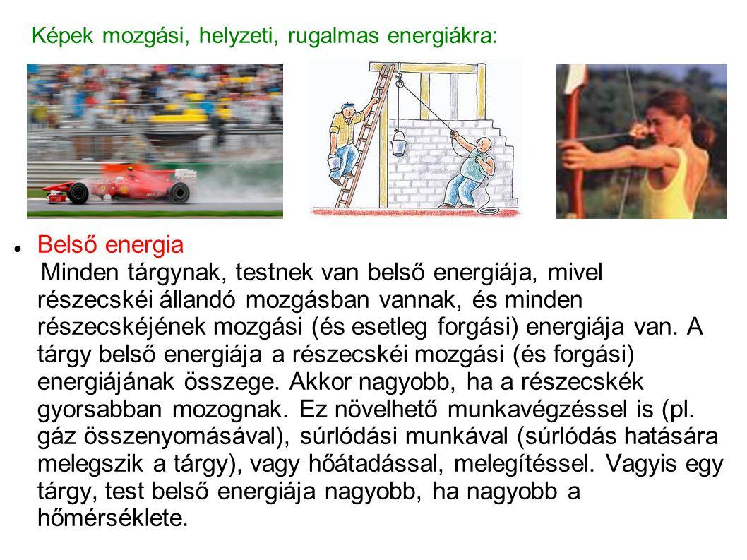 Képek mozgási, helyzeti, rugalmas energiákra: