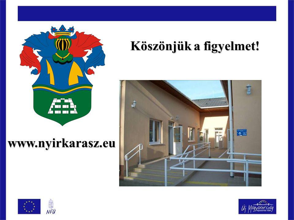 Köszönjük a figyelmet! www.nyirkarasz.eu