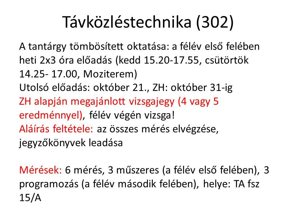 Távközléstechnika (302)