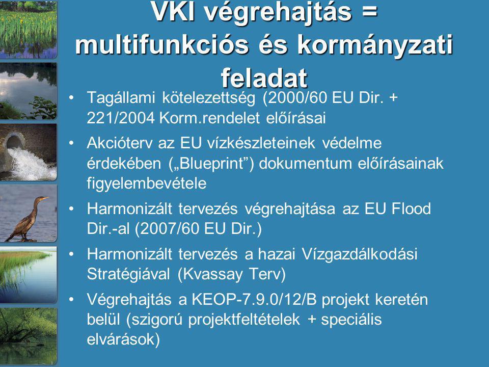 VKI végrehajtás = multifunkciós és kormányzati feladat