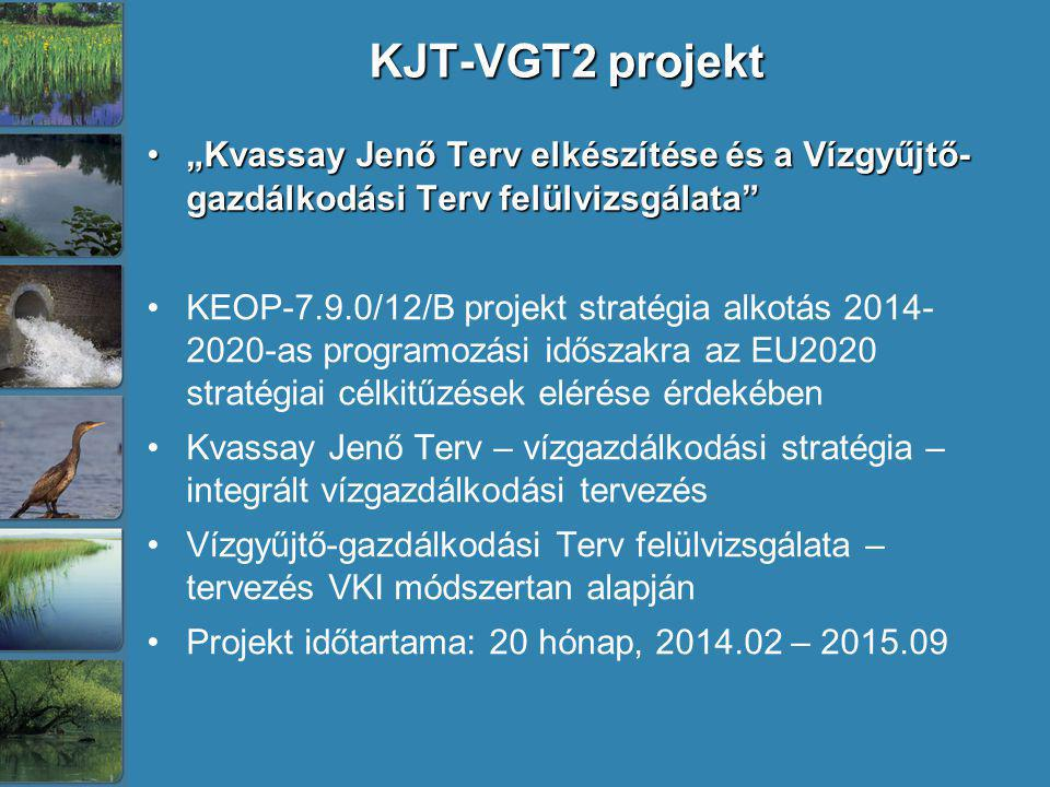 """KJT-VGT2 projekt """"Kvassay Jenő Terv elkészítése és a Vízgyűjtő- gazdálkodási Terv felülvizsgálata"""