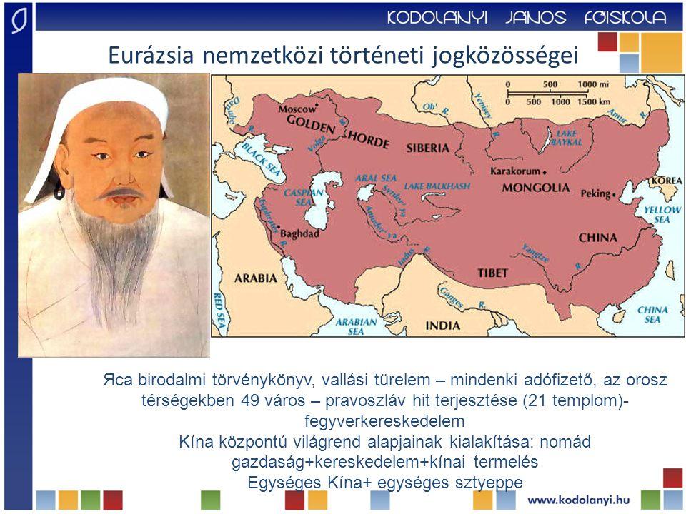 Eurázsia nemzetközi történeti jogközösségei