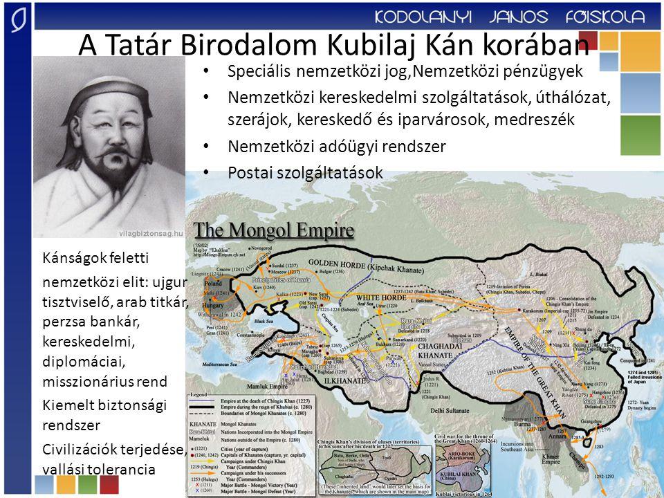 A Tatár Birodalom Kubilaj Kán korában