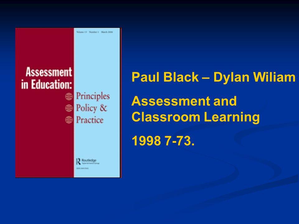 Paul Black – Dylan Wiliam
