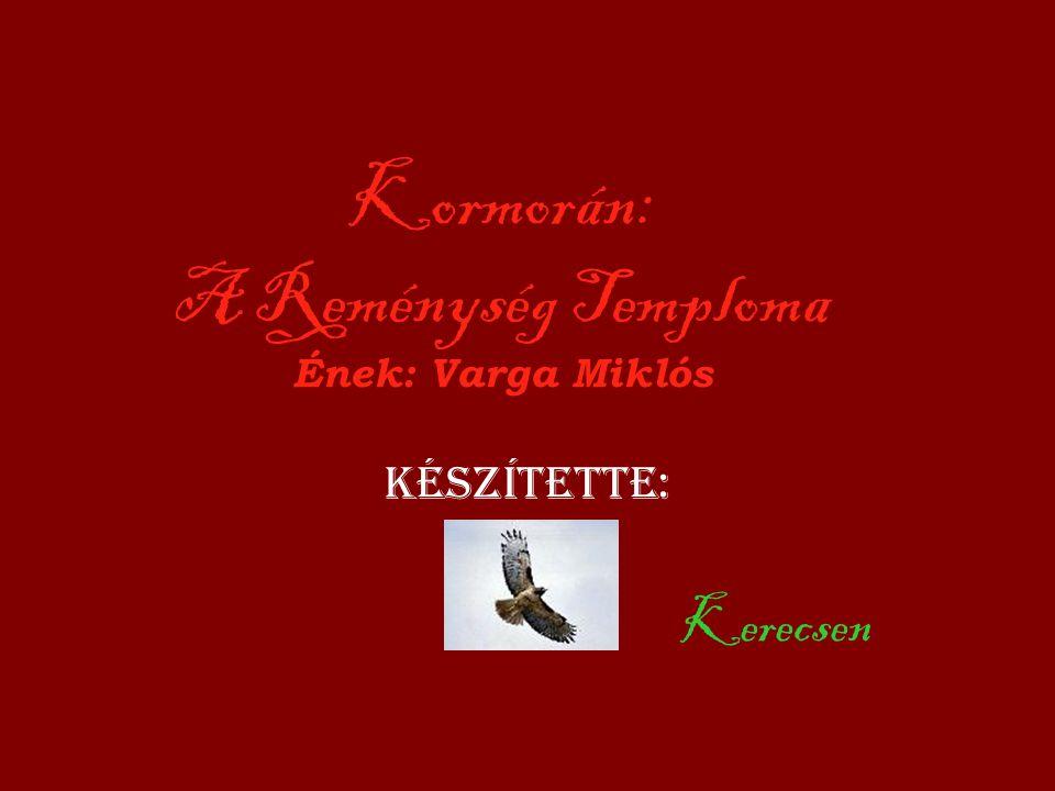 Kormorán: A Reménység Temploma Ének: Varga Miklós