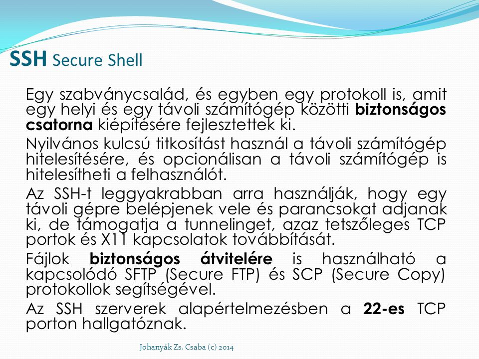 SSH Secure Shell
