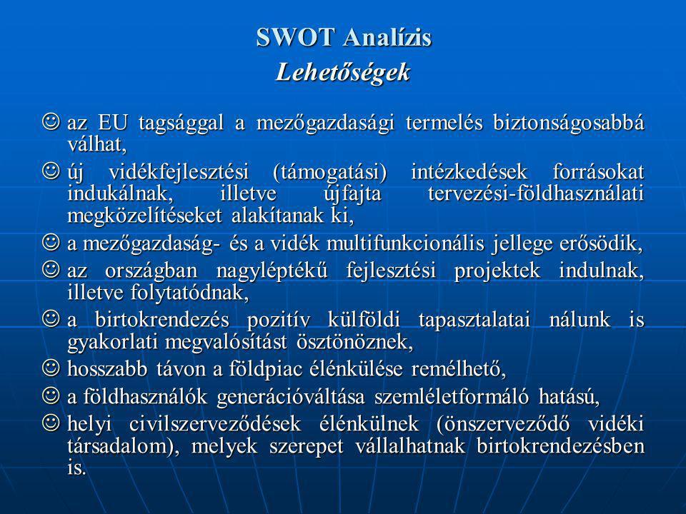 SWOT Analízis Lehetőségek