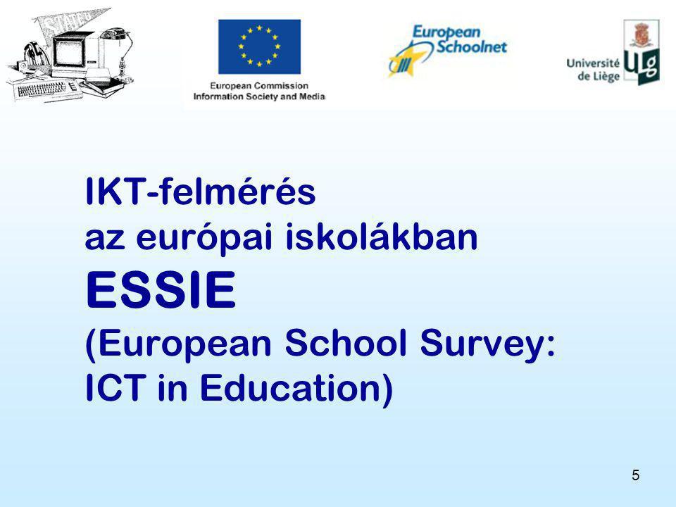 IKT-felmérés az európai iskolákban ESSIE (European School Survey: ICT in Education)