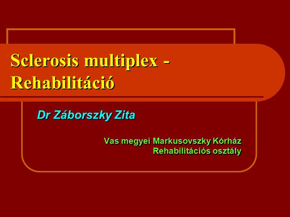 Sclerosis multiplex -Rehabilitáció