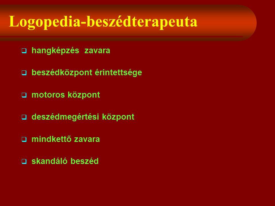Logopedia-beszédterapeuta