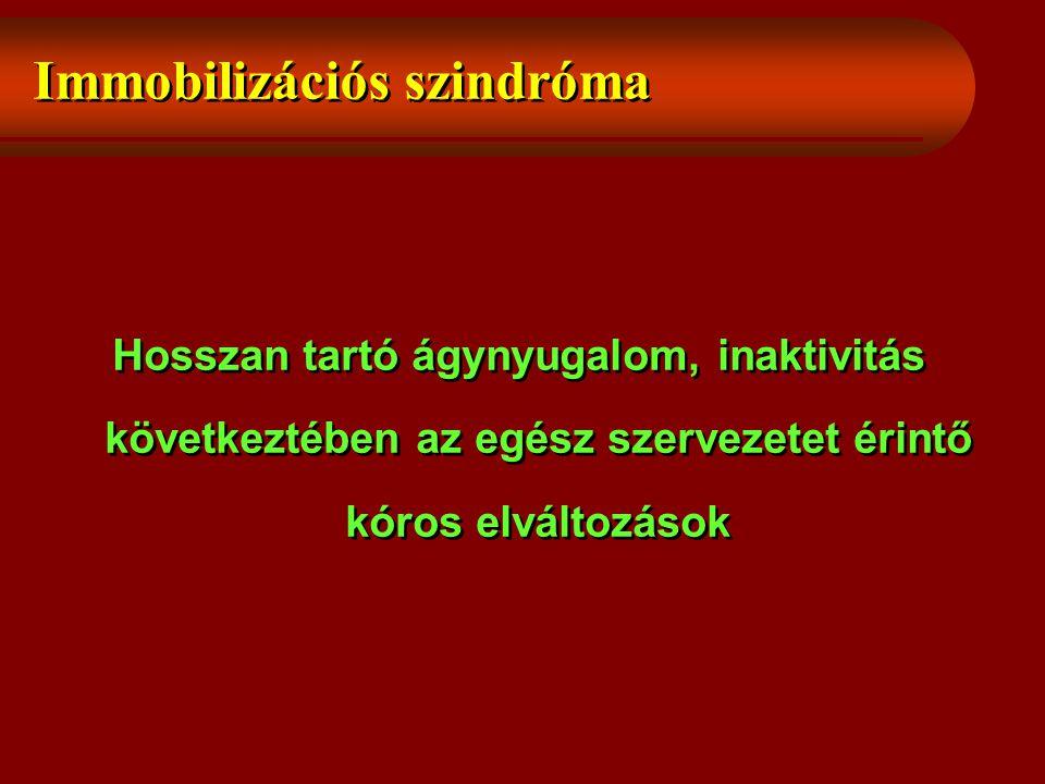 Immobilizációs szindróma