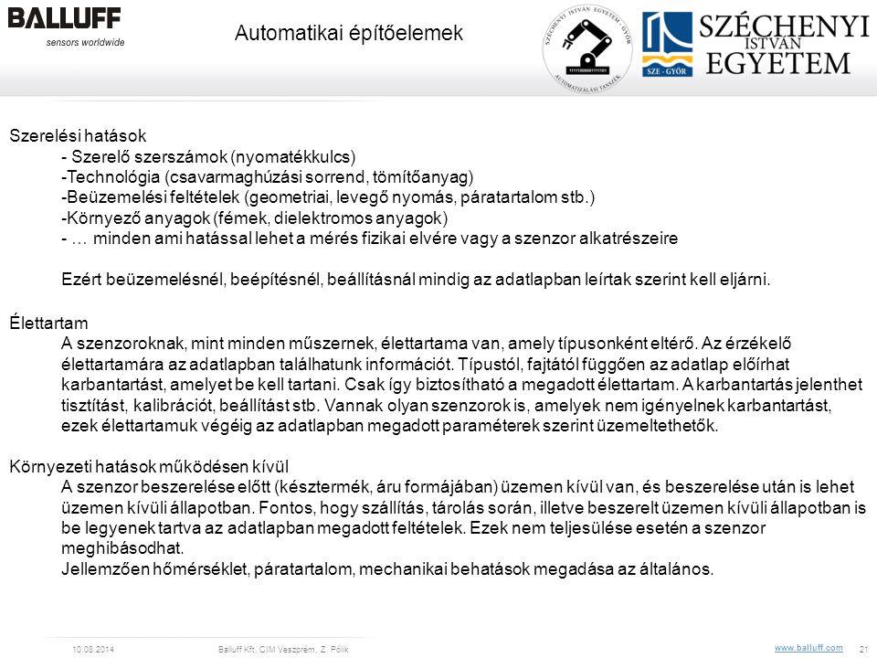 Szerelési hatások - Szerelő szerszámok (nyomatékkulcs) -Technológia (csavarmaghúzási sorrend, tömítőanyag)