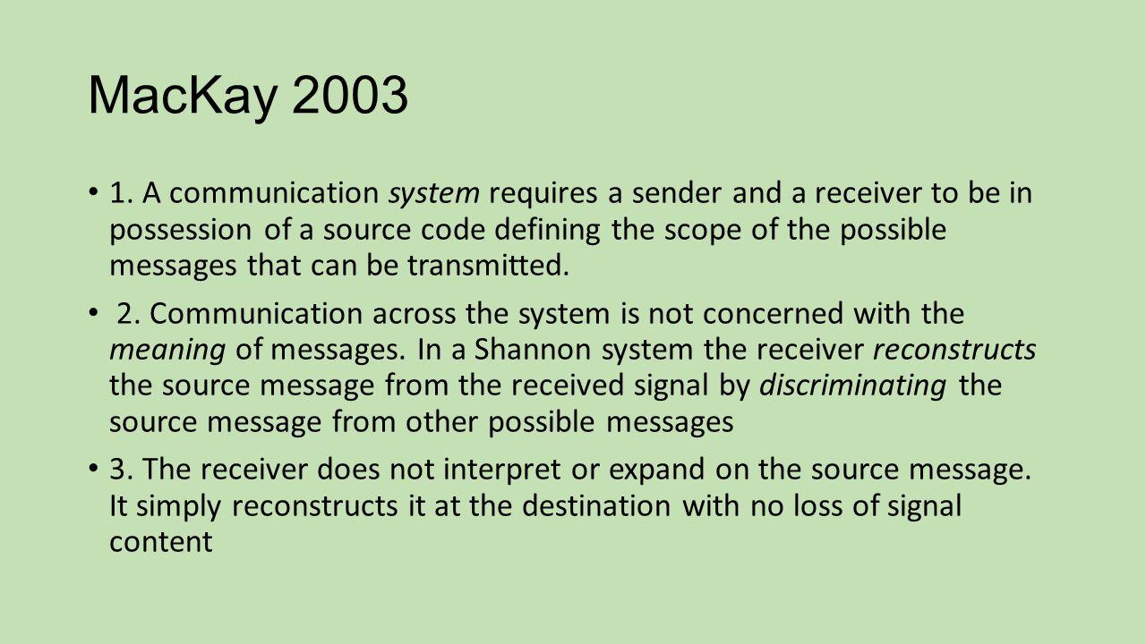 MacKay 2003