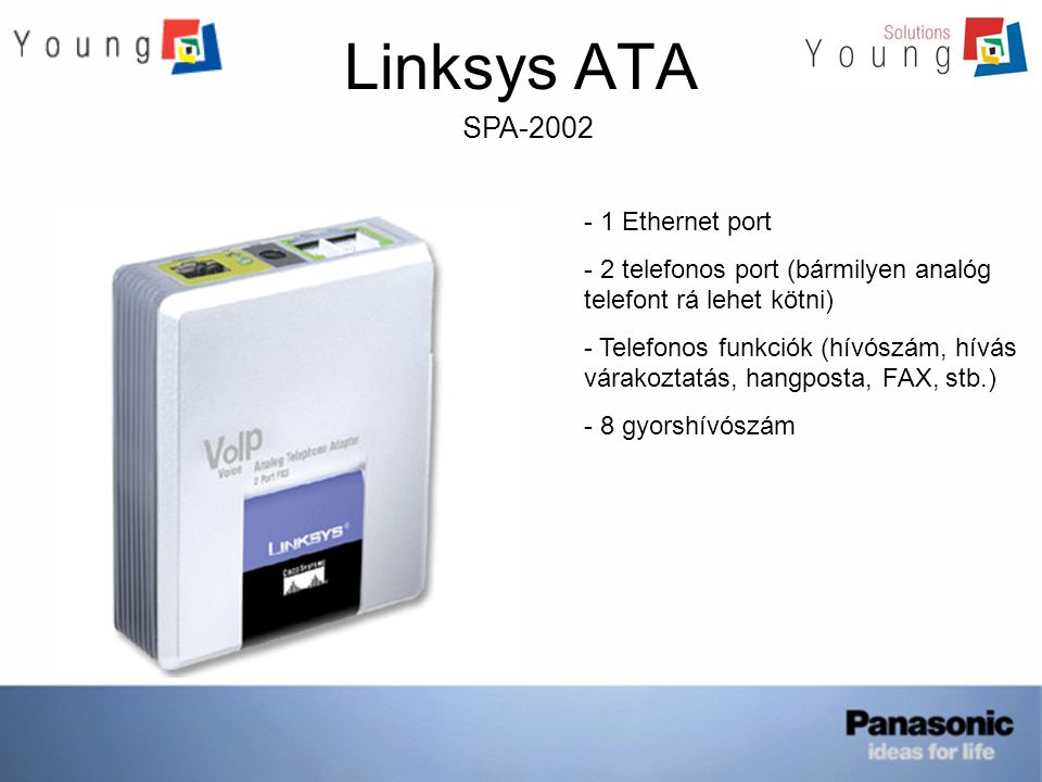 Linksys ATA SPA-2002 1 Ethernet port