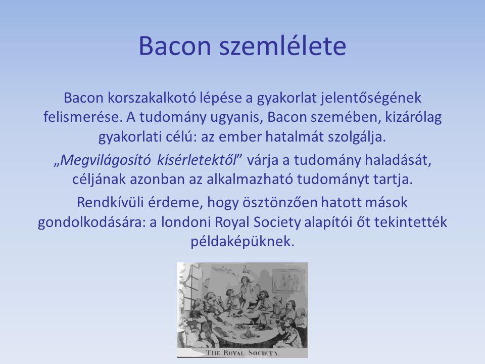 Bacon szemlélete