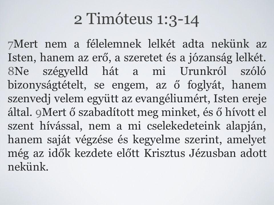2 Timóteus 1:3-14