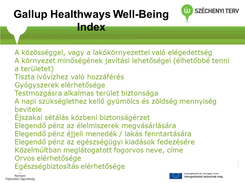 Gallup Healthways Well-Being Index