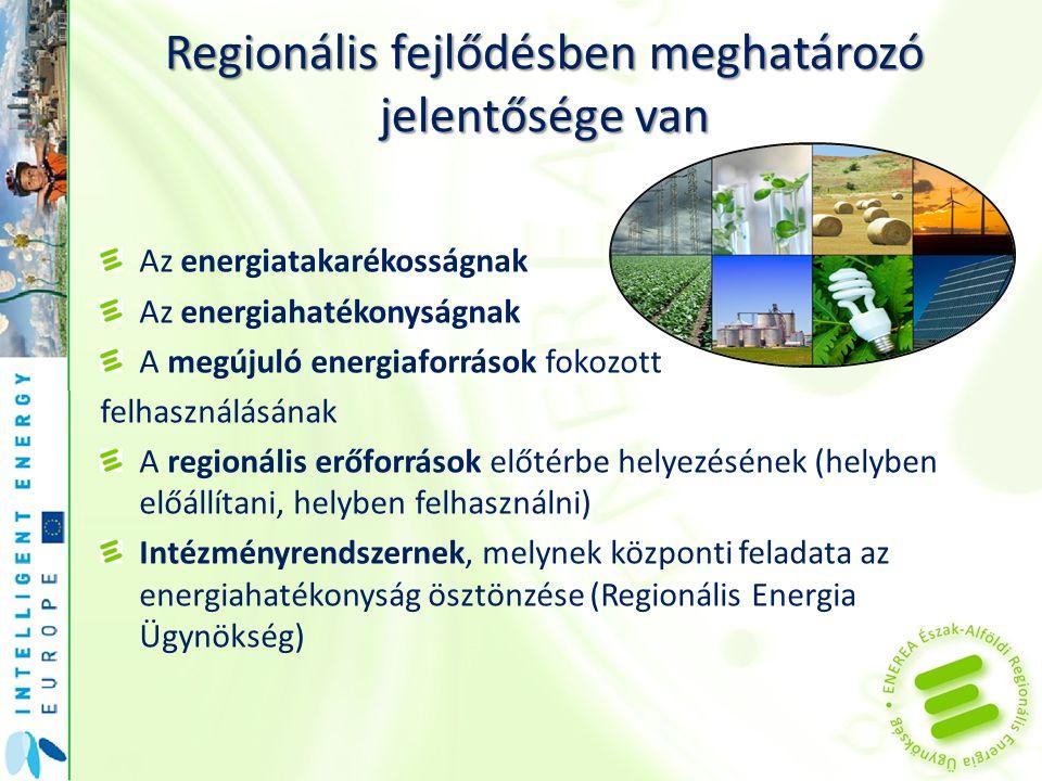 Regionális fejlődésben meghatározó jelentősége van