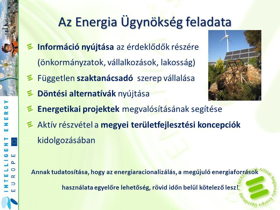 Az Energia Ügynökség feladata