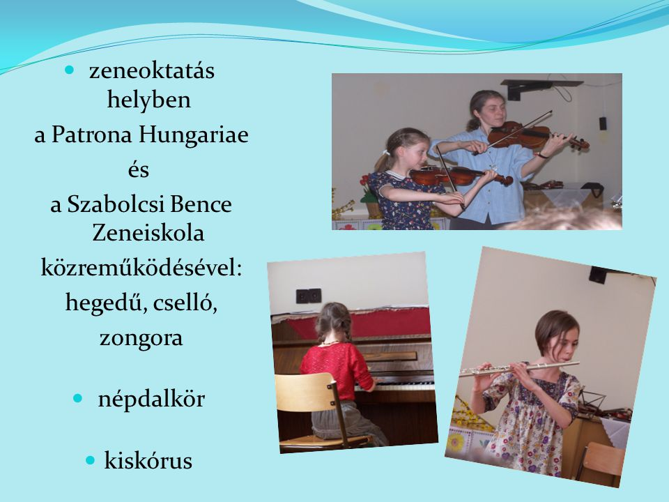 a Szabolcsi Bence Zeneiskola