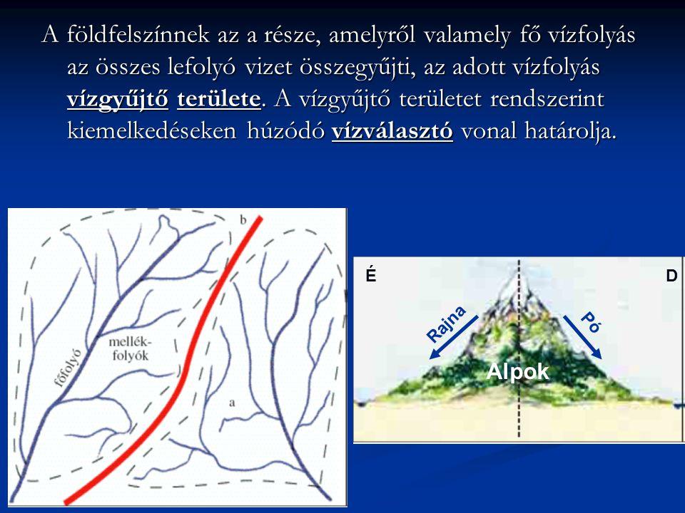 A földfelszínnek az a része, amelyről valamely fő vízfolyás az összes lefolyó vizet összegyűjti, az adott vízfolyás vízgyűjtő területe. A vízgyűjtő területet rendszerint kiemelkedéseken húzódó vízválasztó vonal határolja.