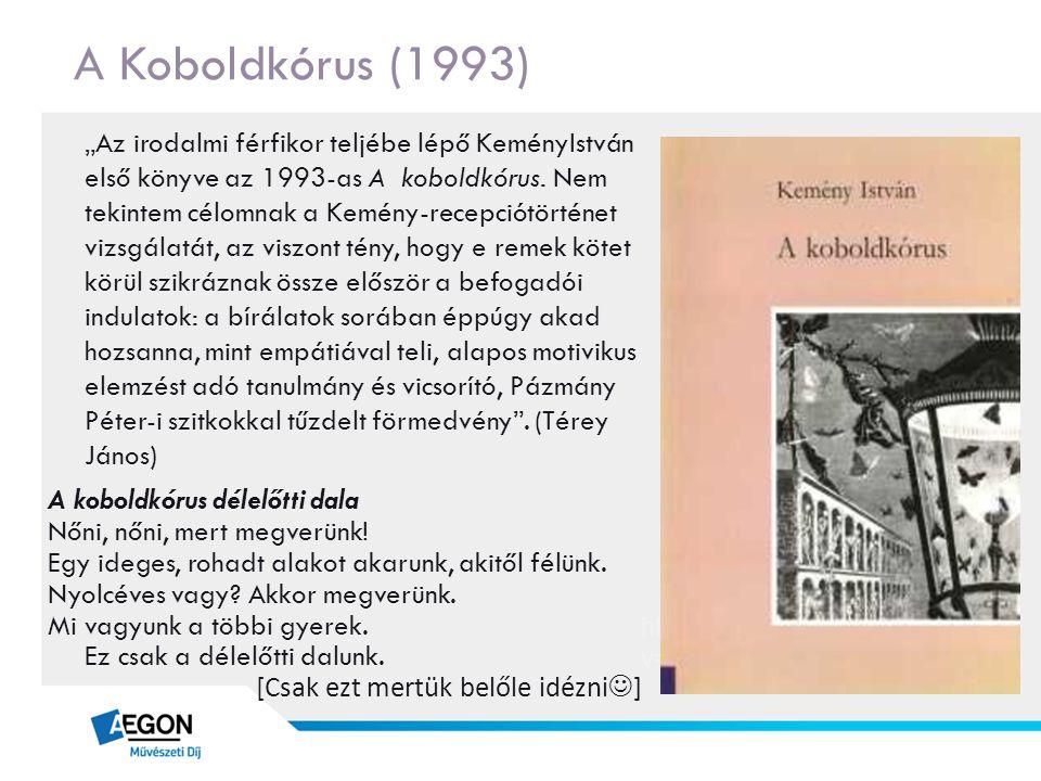 A Koboldkórus (1993)