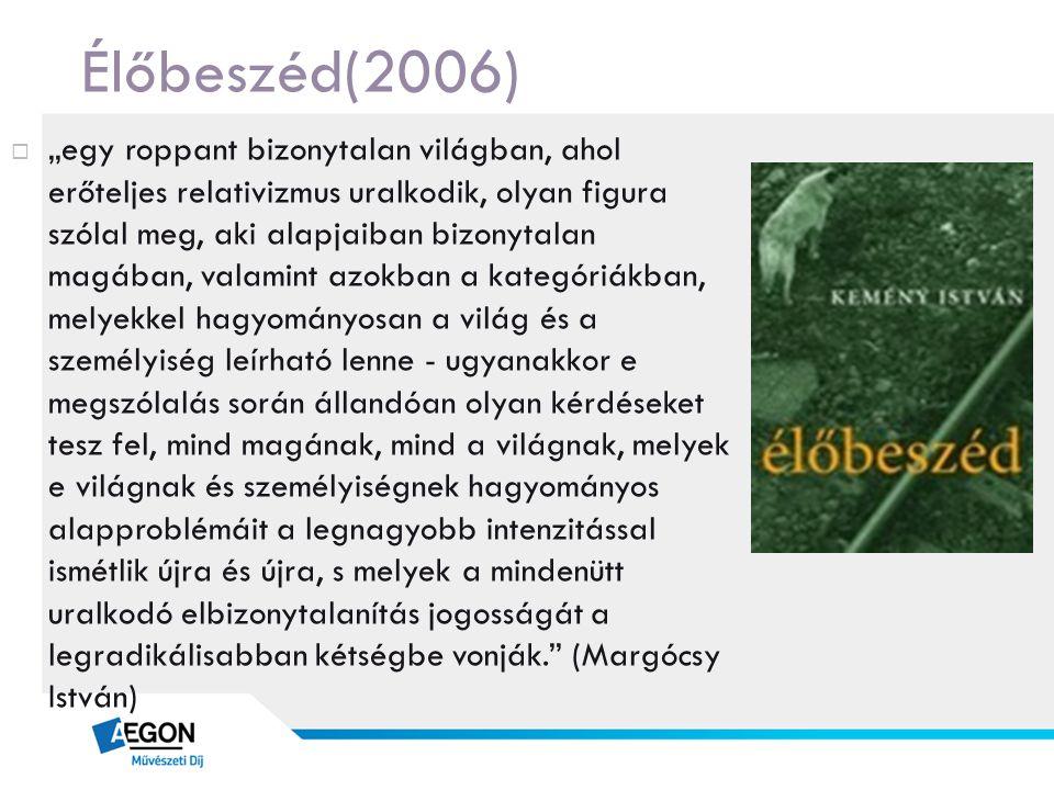 Élőbeszéd(2006)