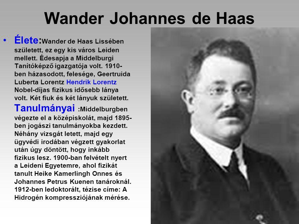 Wander Johannes de Haas