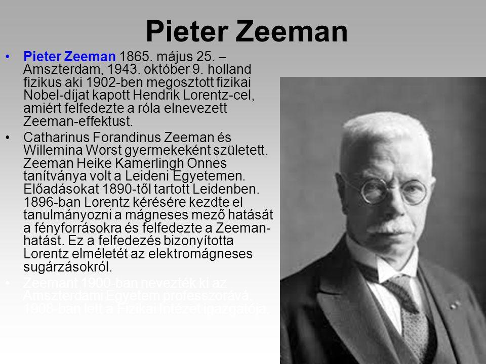 Pieter Zeeman