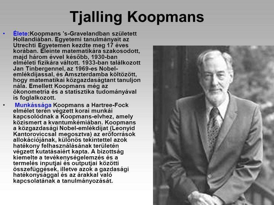 Tjalling Koopmans