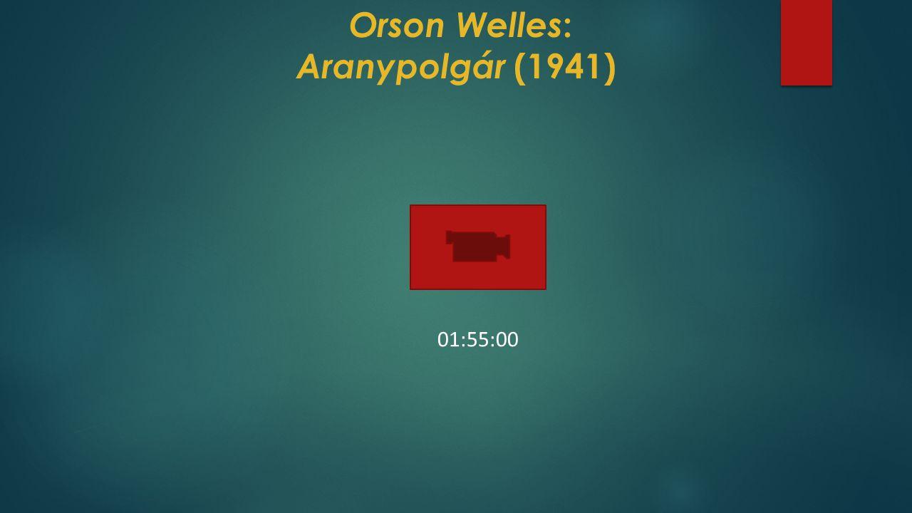 Orson Welles: Aranypolgár (1941)