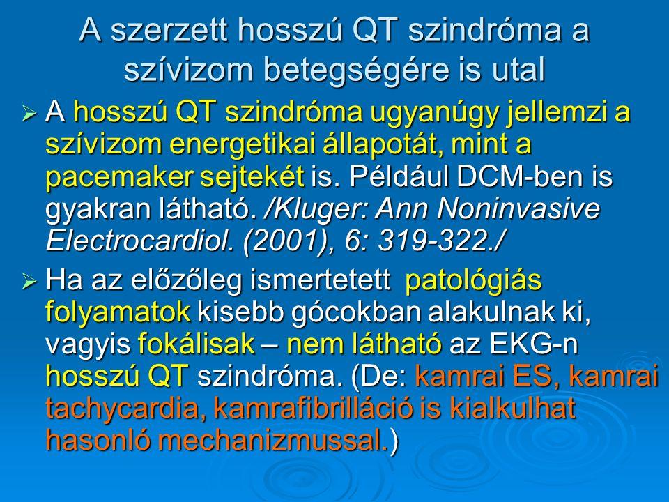 A szerzett hosszú QT szindróma a szívizom betegségére is utal