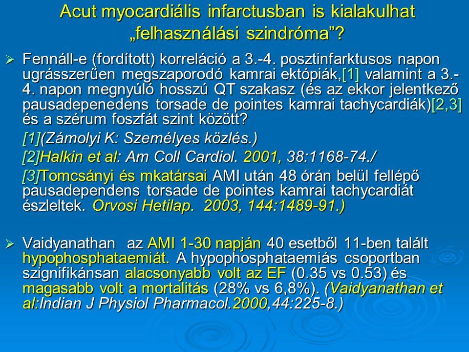 """Acut myocardiális infarctusban is kialakulhat """"felhasználási szindróma"""