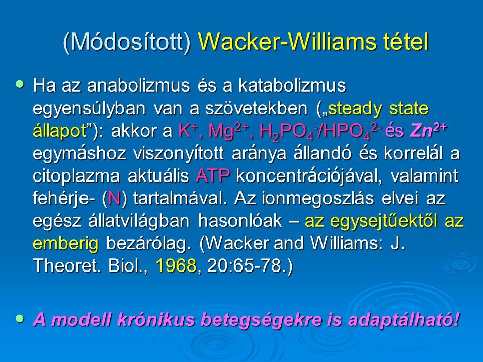 (Módosított) Wacker-Williams tétel