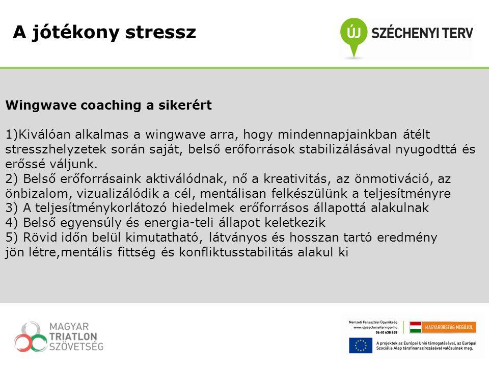 A jótékony stressz Wingwave coaching a sikerért