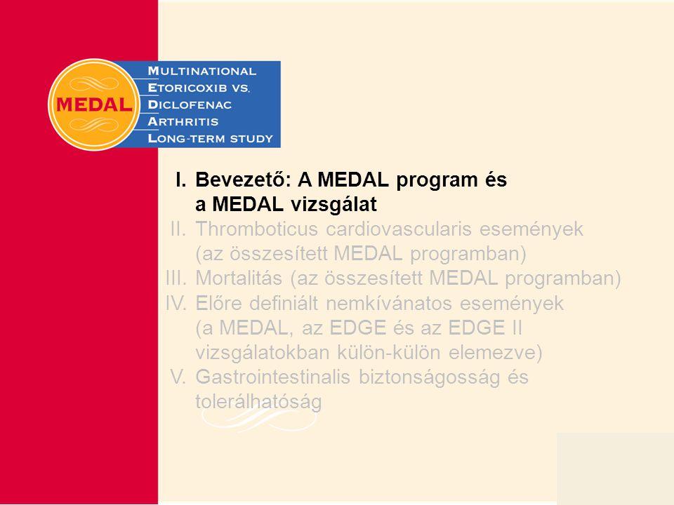 I. Bevezető: A MEDAL program és a MEDAL vizsgálat
