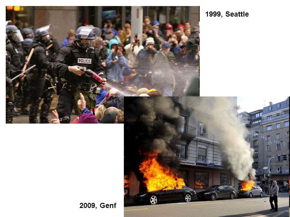 1999, Seattle 2009, Genf