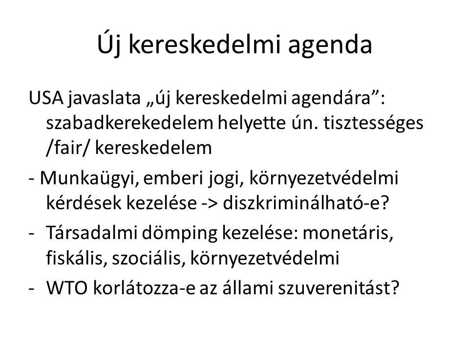 Új kereskedelmi agenda