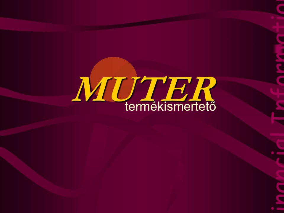 MUTER Financial Information Technology termékismertető