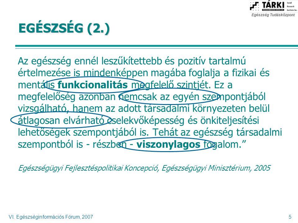 EGÉSZSÉG (2.)