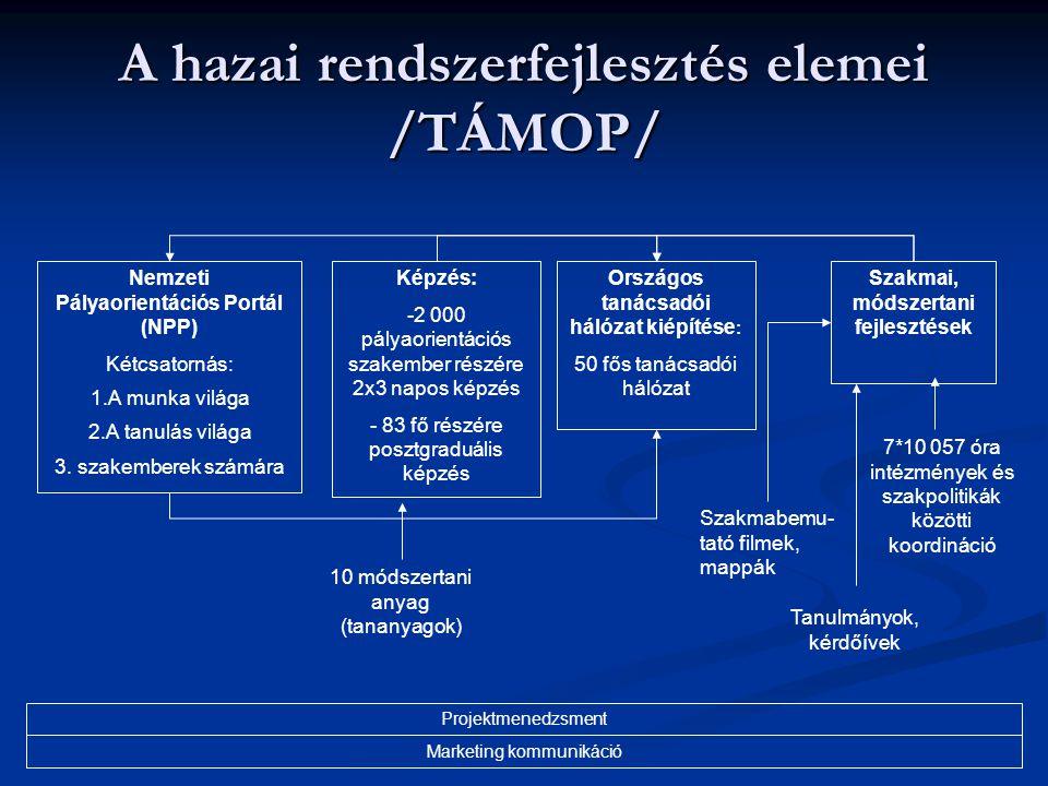 A hazai rendszerfejlesztés elemei /TÁMOP/