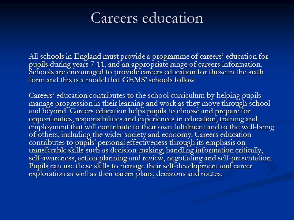 Careers education