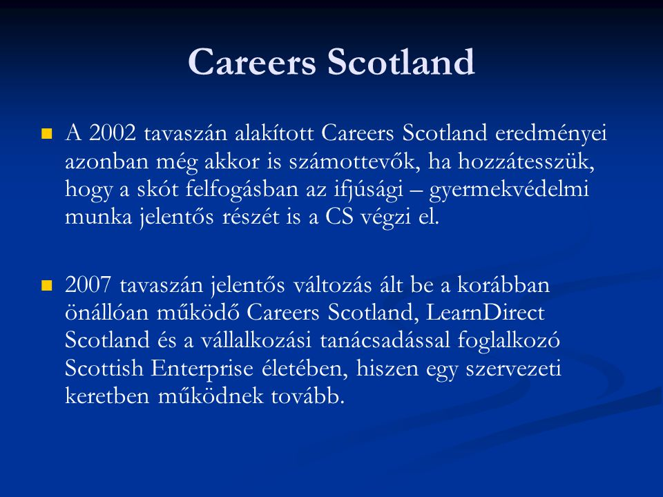 Careers Scotland