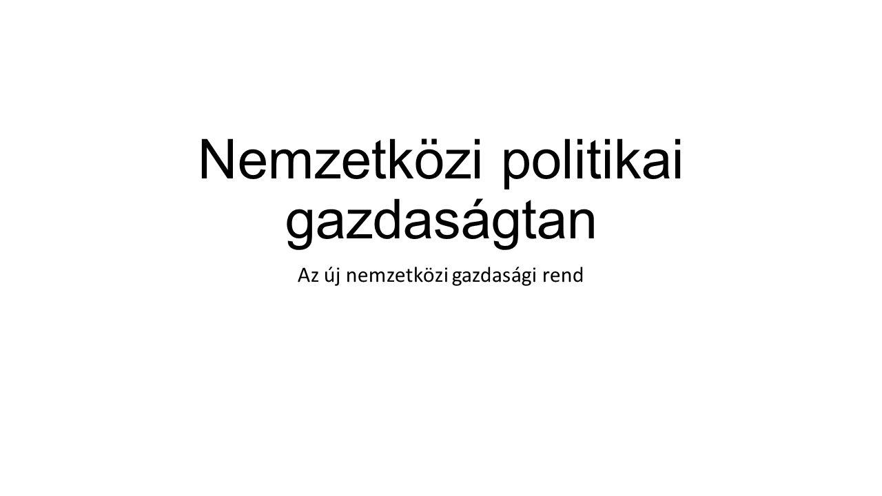 Nemzetközi politikai gazdaságtan