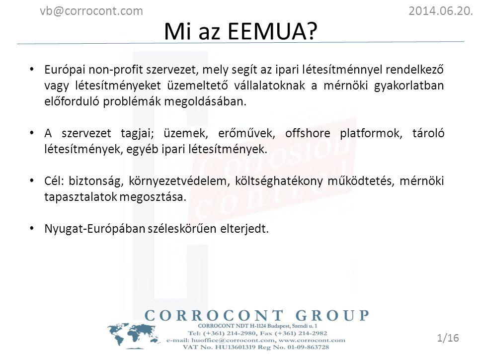 Mi az EEMUA vb@corrocont.com 2014.06.20.