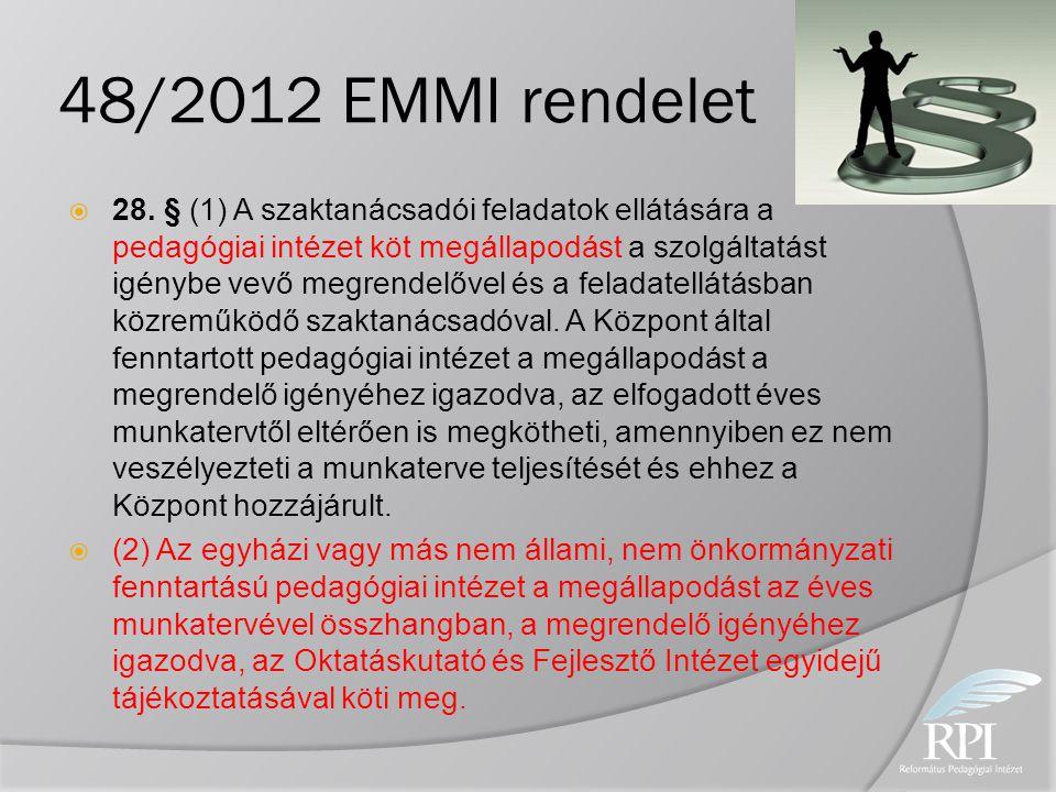48/2012 EMMI rendelet