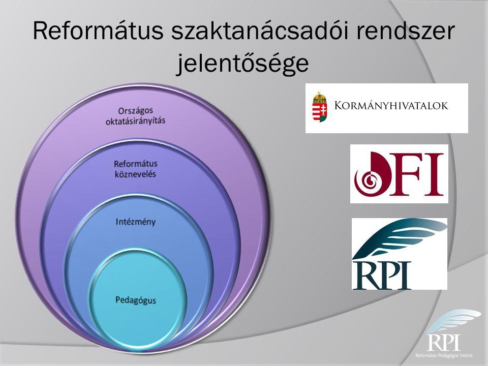 Református szaktanácsadói rendszer jelentősége