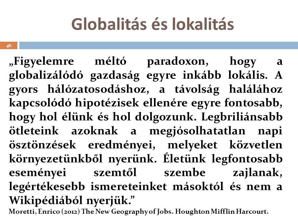 Globalitás és lokalitás
